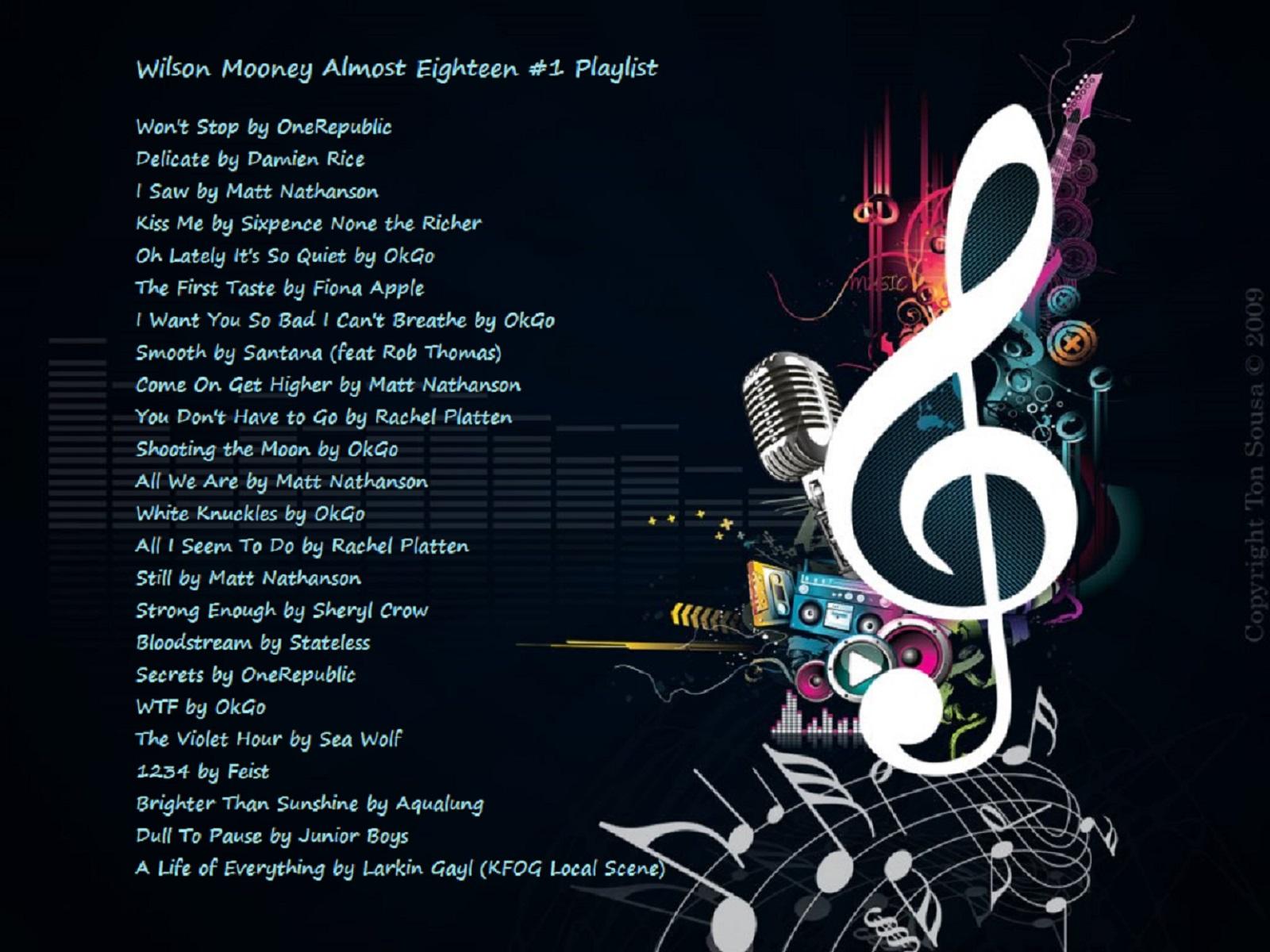 music playlist image