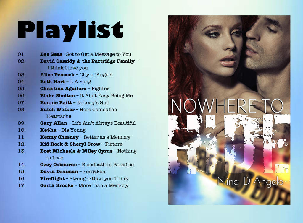 Microsoft Word - Playlist of songs nowhere to hide-1.docx