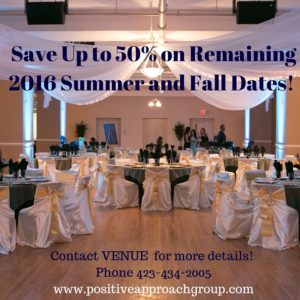 Save Up to 50% on Remaining Summer and Fall Dates!