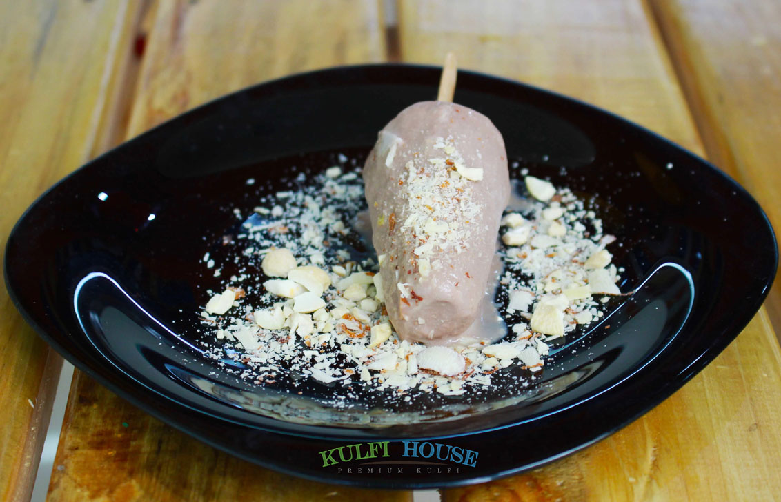 Chocolate Almond Kulfi