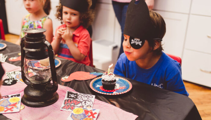 Deluxe pirate-themed party at Tiny Town
