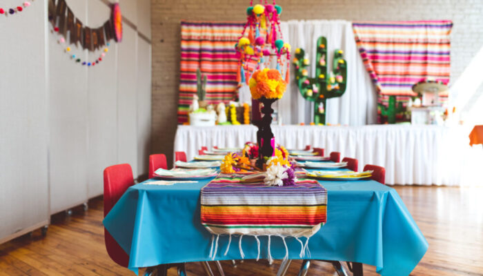 Deluxe Mexican-themed party at Tiny Town