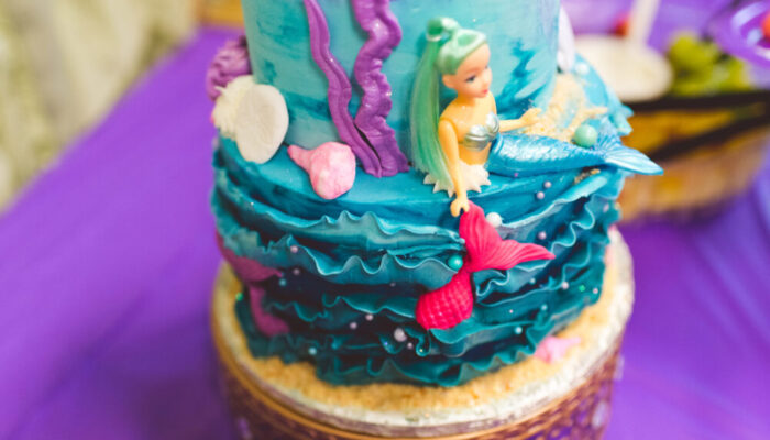 Ultimate mermaid-themed party at Tiny Town