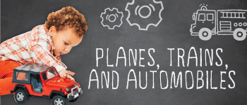 Tiny Town Summer Camp 2021: Planes, Trains, and Automobiles