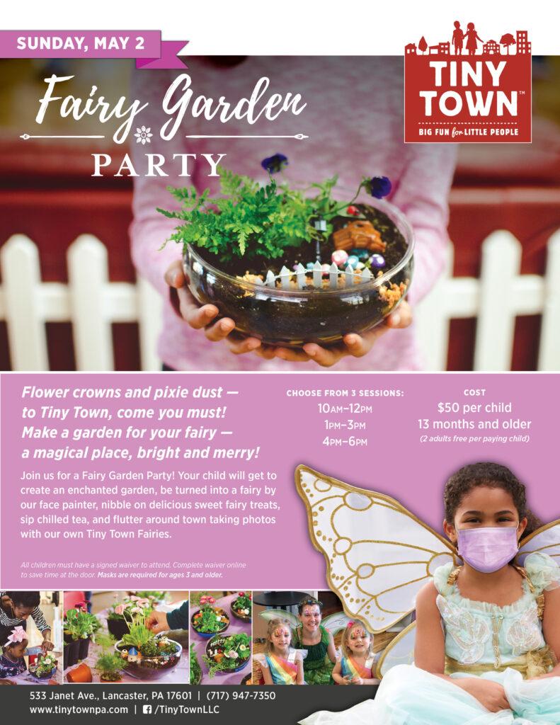 Fairy Garden Party at Tiny Town