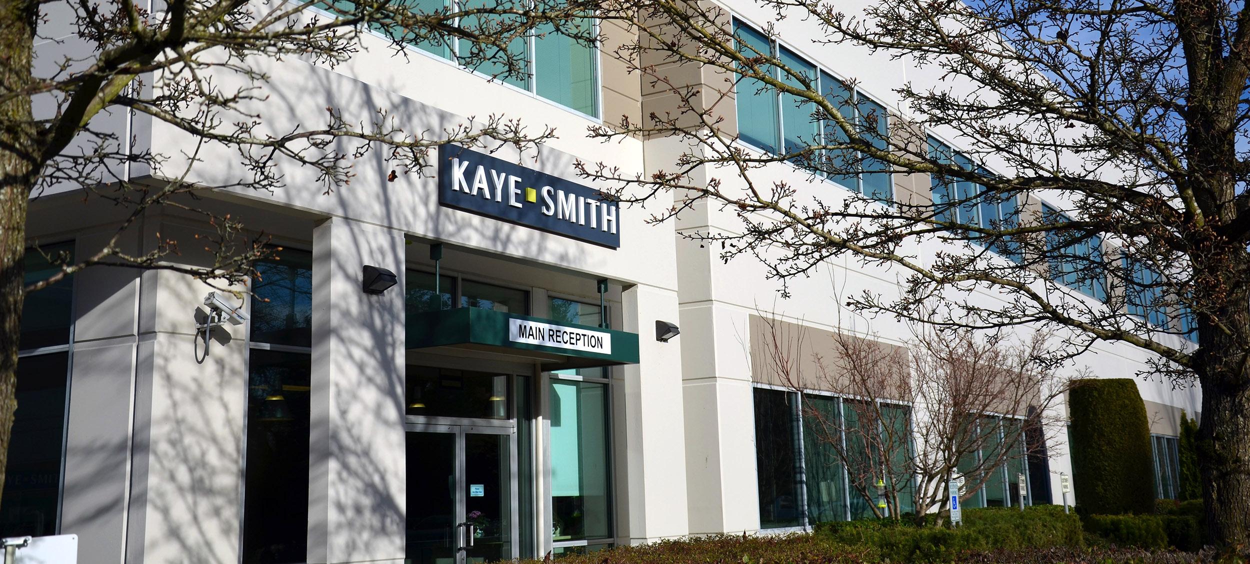 Kaye-Smith Renton Facility Front Entrance