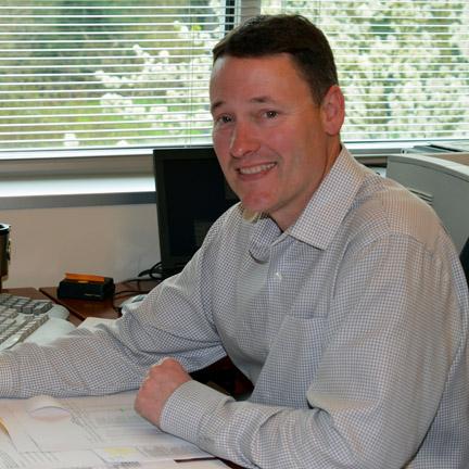 Kaye-Smith Controller and Rapsedi Manager Randy Gifford