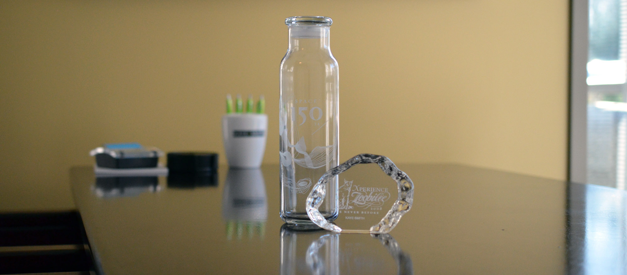 Kaye-Smith Branded Merchandise Promotional Products Glass Awards
