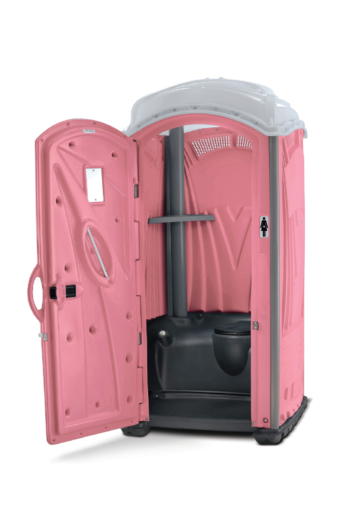 Pink Aspen Porta Potty
