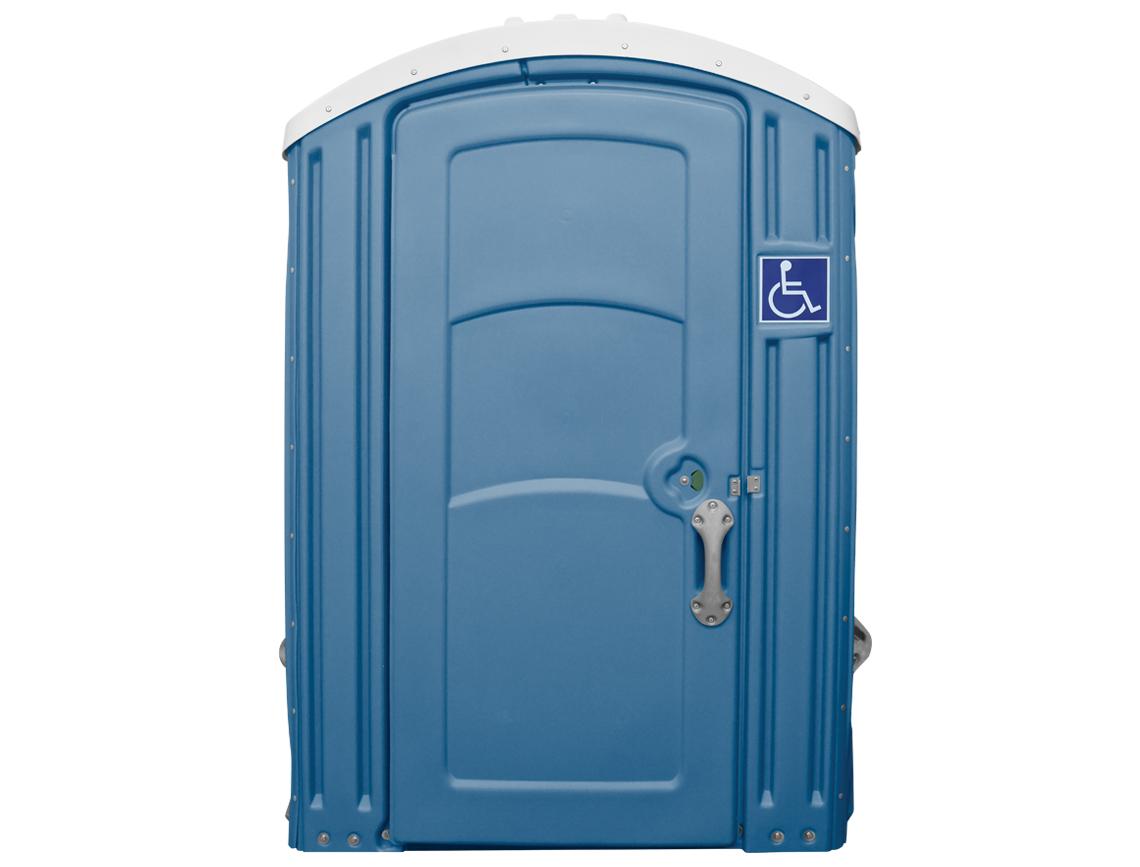 handicap porta potty