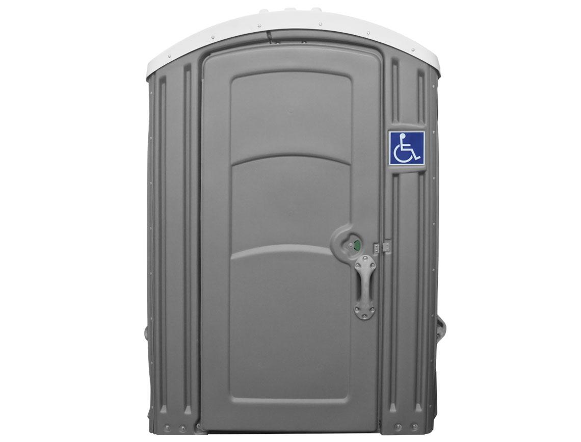 wheelchair accessible porta potty