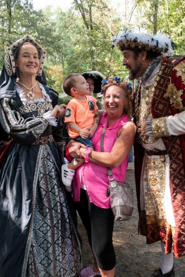 Carol Moyer -1st Place Best Spirit - Henry VIII Family Time