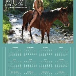 Native Model Riding Horse