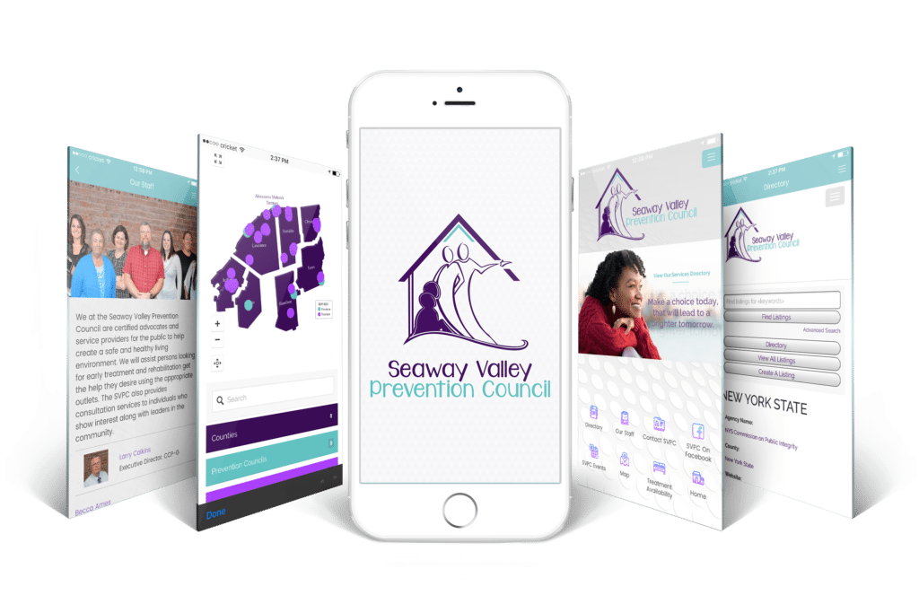Seaway Valley Prevention Council Mobile App