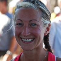 Women's winner Sarah Dillman