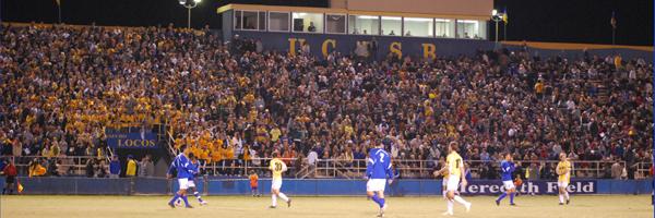 UC Santa Barbara's soccer-only Harder Stadium.