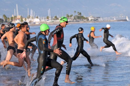 The 1k ocean swim is an important piece of the Nite Moves formula