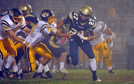 Dos Pueblos running back Anthony Spiritosanto