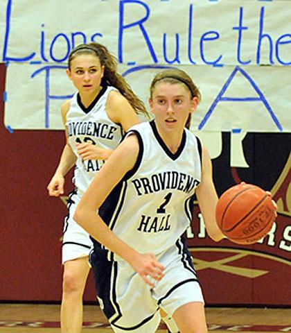 Providence Hall girls basketball