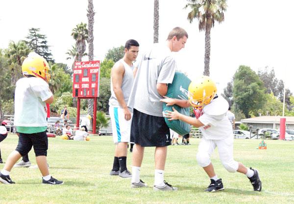 Bishop Youth Football Camp