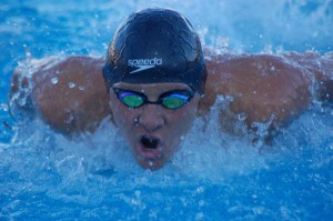 Alex Valente, of Santa Barbara Aquatics Club, is one of the top swimmers in the country in the 100-meter butterfly among 15 year olds.