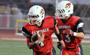 Bishop Diego returns four All-CIF First Team players, including versatile QB Anthony Carter, pictured, from last year's team that went 12-1.