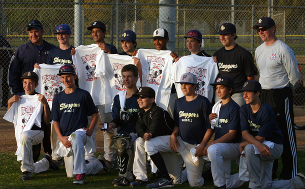 The Junior Grizzlies won thier first ever tournament over the President's Day Weekend