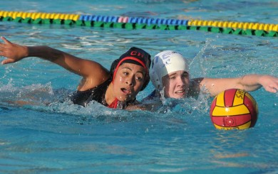Carpinteria vs. Cate Girls Water Polo