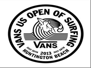 Vans U.S. Open of Surfing logo