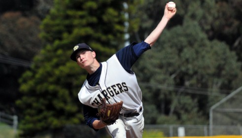 Dos Pueblos starter Gabe Speier struck out 10, allowed two runs and two hits in a no decision.