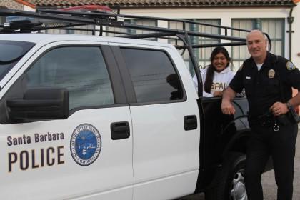 Sports Volunteer of the Month - Santa Barbara Police Officer Kent Wojciechoski