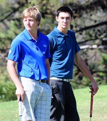 Reilly McMahon and Mitchell Martin - Santa Barbara Golf Classic