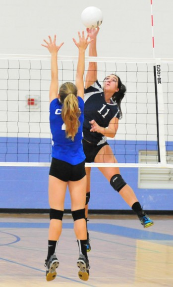 Hannah White - Laguna Blanca girls volleyball