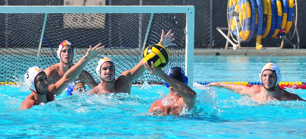 UCSB water polo vs. USC Trojans