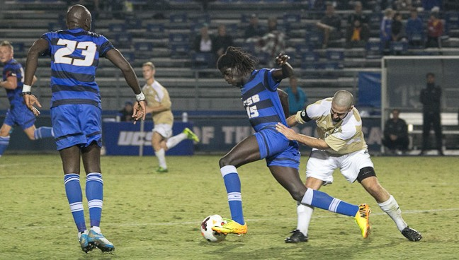 Ismaila Jome  - UCSB men's soccer