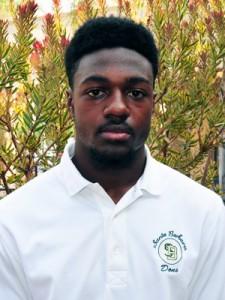 Santa Barbara High's Cheroke Cunningham was Male Athlete of the Week