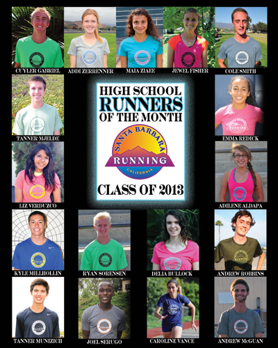 Presidio Sports and Santa Barbara Running Company began the High School Runner of the Month series, recognizing 17 local student-athletes for their leadership and excellence in running.