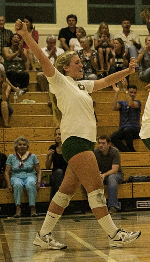 Senior setter Lexi Rottman leads an experienced  Santa Barbara High girls volleyball teaml League..