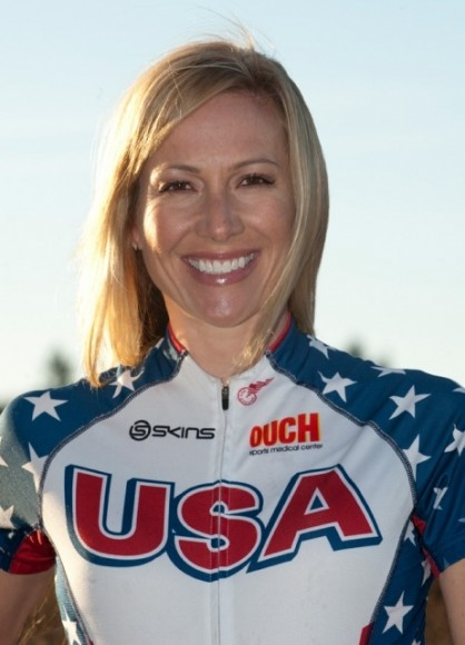 Team USA cyclist Dotsie Bausch is the featured speaker at the Women and Girls in Sports Luncheon.