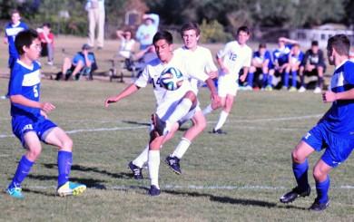 Damien Nunez - Laguna Blanca boys soccer