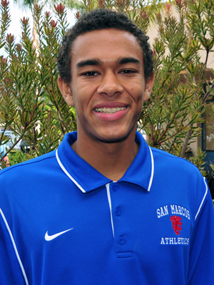 Elijah Johnson, San Marcos boys basketball.
