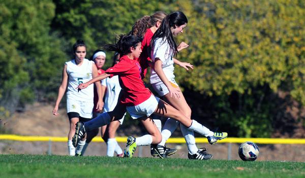 Santa Barbara High vs. San Marcos junior varsity soccer