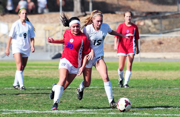 Santa Barbara High vs. San Marcos Girls Soccer