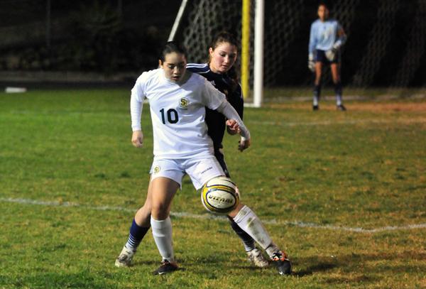Jackie Lopez - Santa Barbara High Girls Soccer