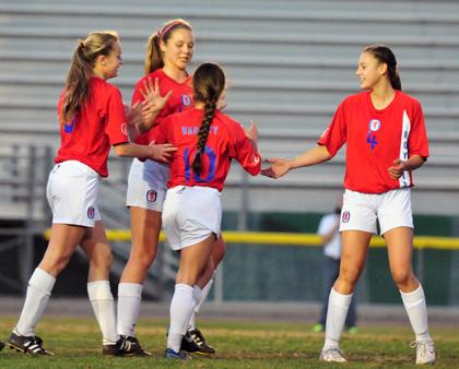 San Marcos girls soccer vs. Santa Barbara High