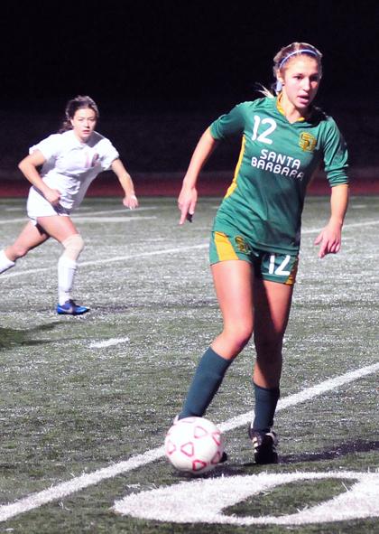 San Marcos vs Santa Barbara High girls soccer