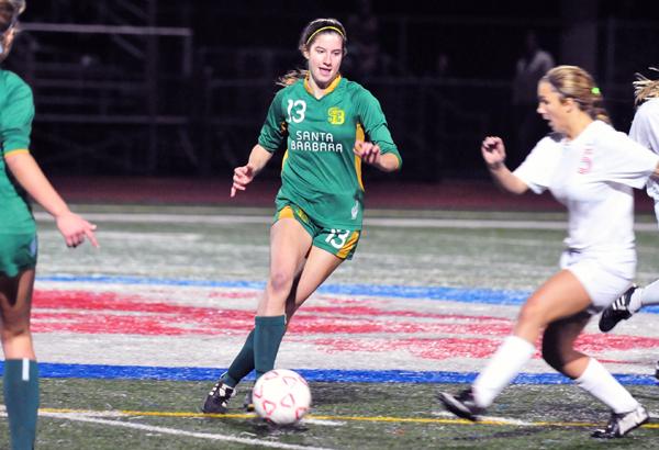 Julie Pitney - Santa Barbara High Soccer