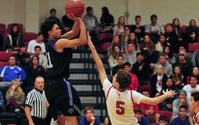 Bishop Diego vs Saddleback Christian Valley CIF Basketball