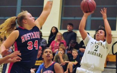 Yorba Linda vs. Santa Barbara High CIF Girls Basketball