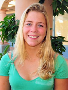 Female Athlete of the Week Rachelle Visser of SBCC Swimming